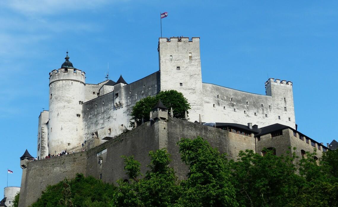 Hohensalzburg Fortress 117297 1920