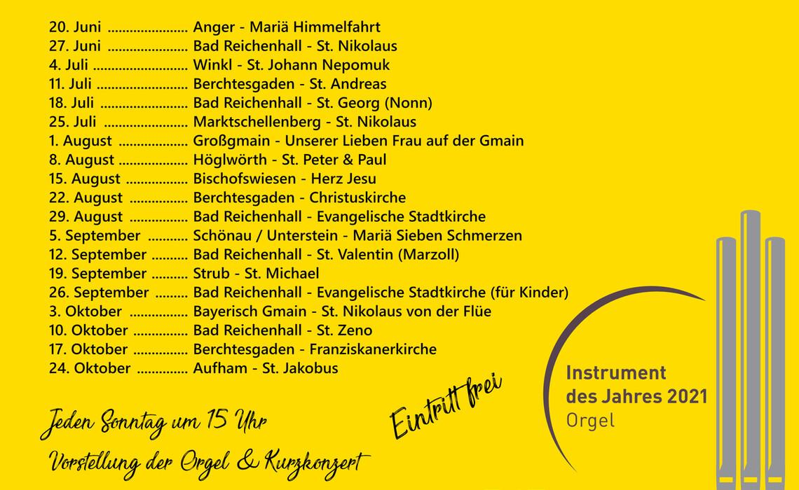 Orgelreise Bgl 2021 Plakat