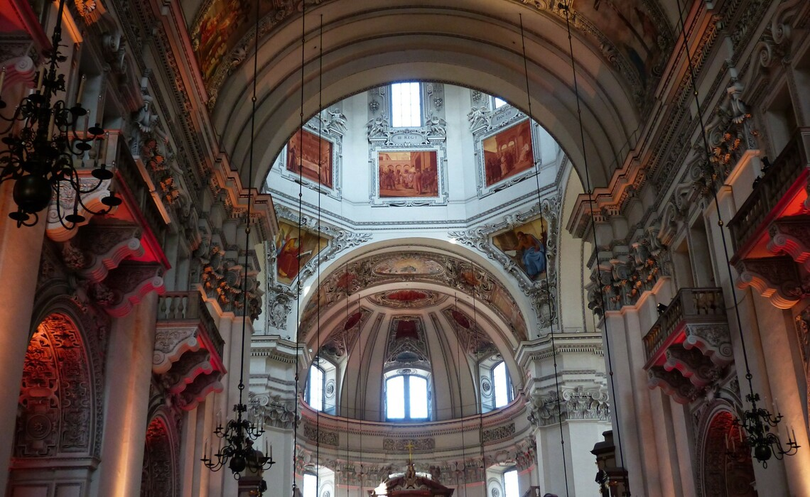 Salzburg Cathedral 116862 1920